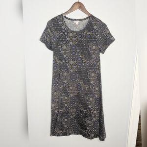 Lularoe Jessie Stretchy Aline Dress Pockets XS
